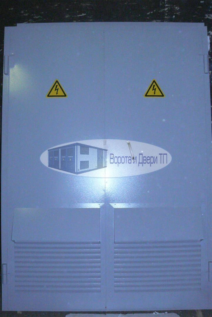 Ворота для электрических подстанций